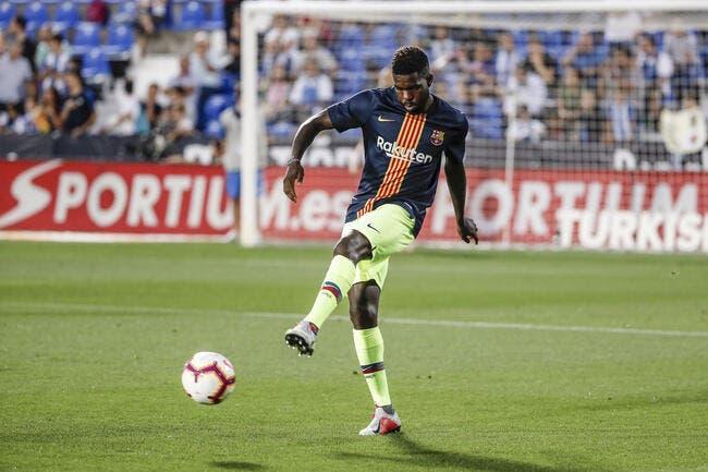 Esp: Désespéré, le Barça envoie officiellement Umtiti au Qatar