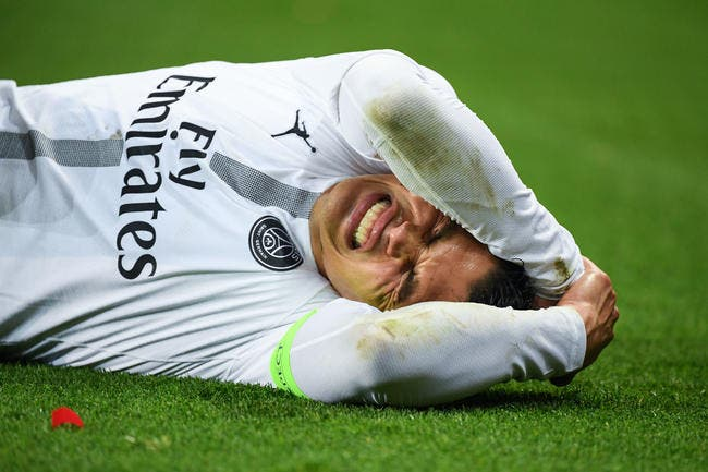 PSG : Surnommé «La pleureuse» à Paris , Thiago Silva a la rage