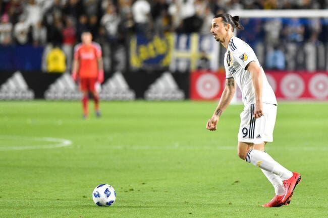Mercato: Ibrahimovic négocie son retour chez un grand d'Europe