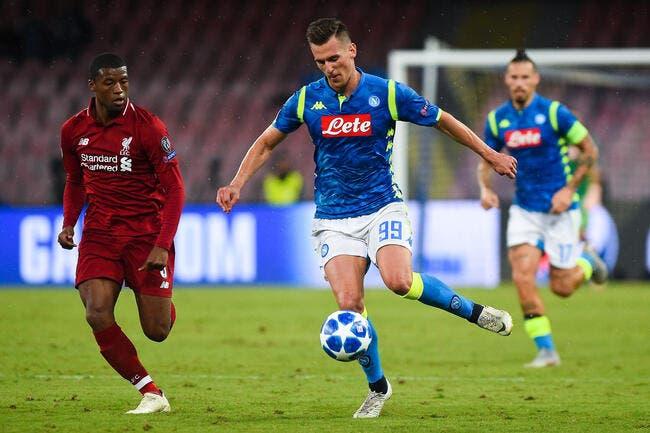 Naples : Milik braqué à la sortie du match, un butin de 20.000 euros