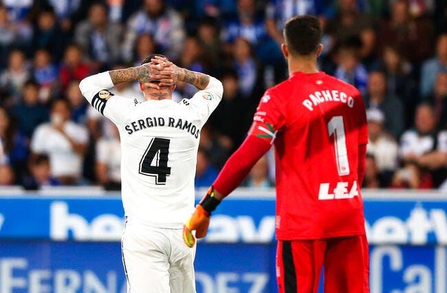 Esp : Sergio Ramos lance «Mais non mais non le Real Madrid n'est pas mort»