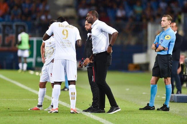 Nice: Balotelli écarté, Vieira prépare une surprise pour l'OM