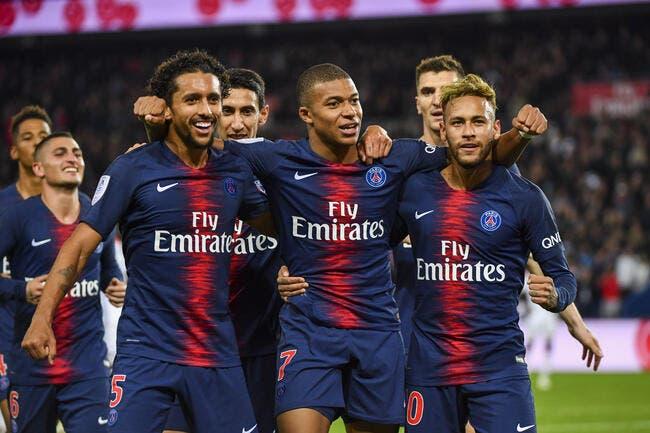 L1 : 5-0, le PSG et Mbappé ridiculisent l'OL au Parc !