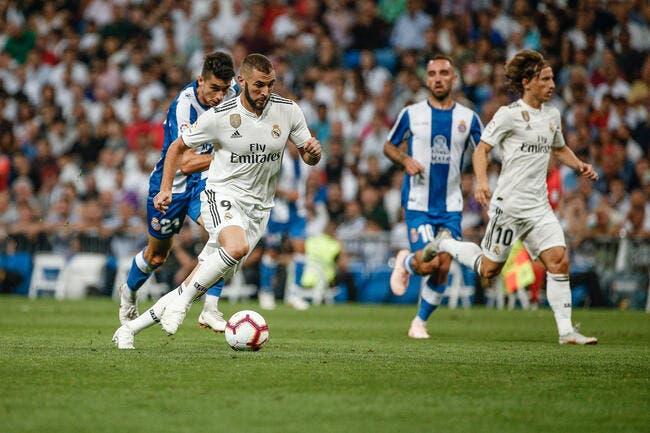 Liga : Le Real Madrid communique sur la blessure de Benzema
