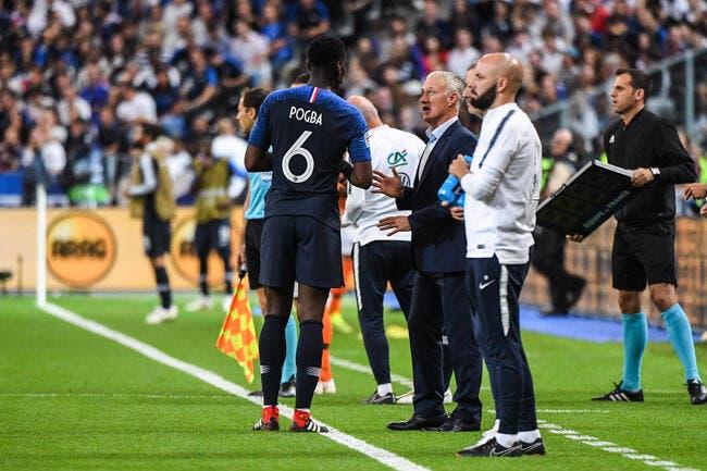 Deschamps imagine le duo Zidane-Pogba… loin de Man United