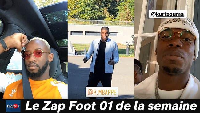 Pogba kiffe l'UFC, Mbappé superstar, Dembélé se plait à Lyon