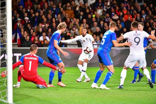 EdF : Mbappé sauve les Bleus contre l'Islande !