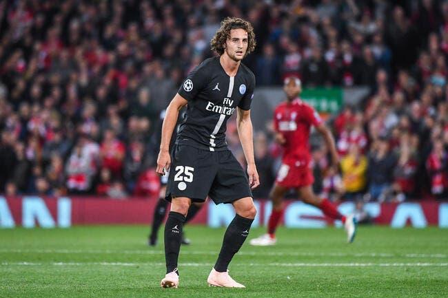 PSG: Même au repos, Rabiot joue avec les nerfs de Paris