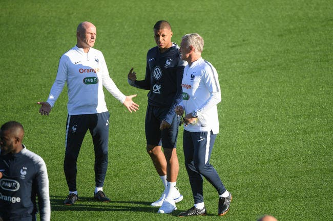 EdF : Comment stopper Mbappé, Deschamps le montre en images