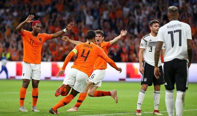 LdN : Les Pays-Bas et Depay écrasent l'Allemagne