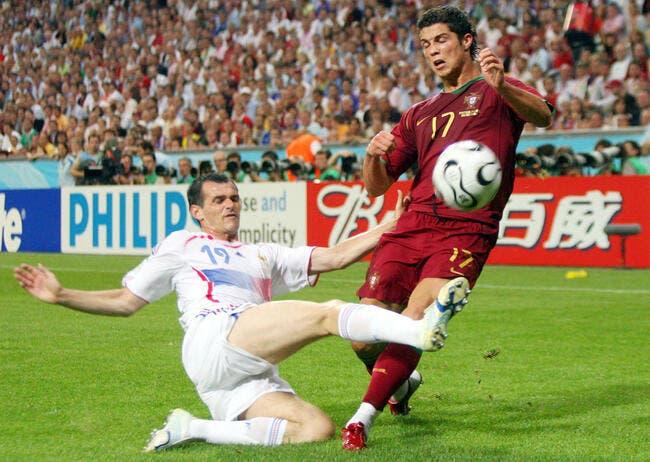 Les sales coups de Sagnol pour bloquer Cristiano Ronaldo