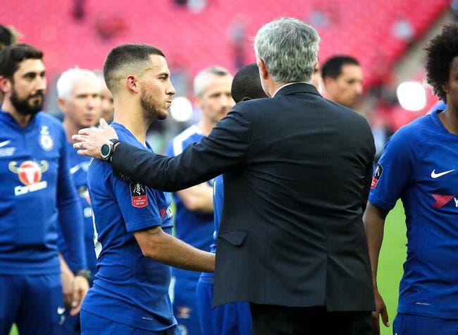 Mercato : Mourinho avec Hazard au Real, un journaliste lâche le morceau