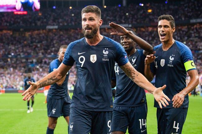 EdF : Dugarry l'avait découpé, Olivier Giroud n'est pas rancunier
