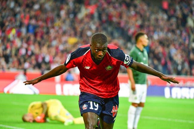 L1 : Nicolas Pépé (LOSC) joueur du mois de septembre devant Ndombele et Khazri