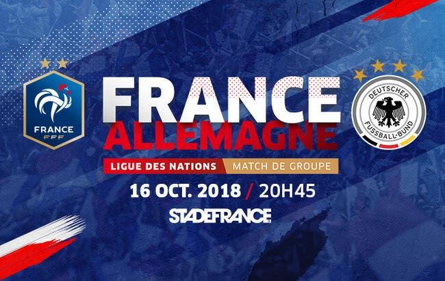 LdN : France-Allemagne : les compos (20h45 sur M6)