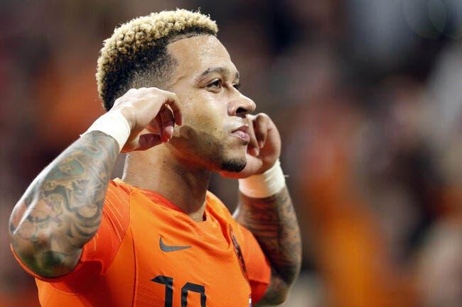 OL : Memphis est « génial », les Pays-Bas disent merci à l'OL !