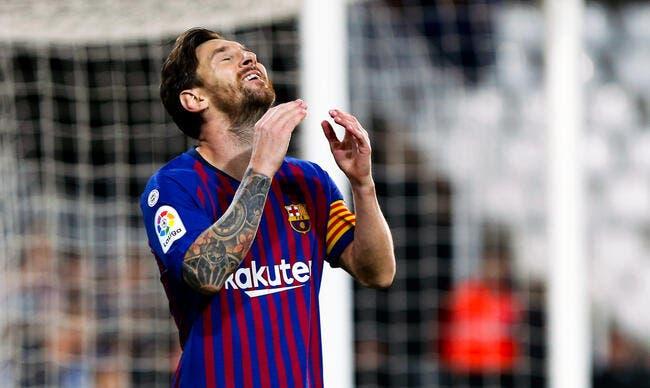 Barça : Messi sorti sur blessure, l'inquiétude règne !