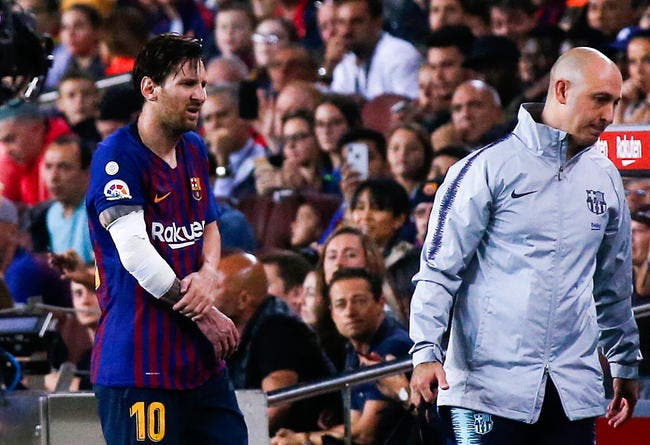 Esp : Fracture pour Lionel Messi, il sera absent 3 semaines !