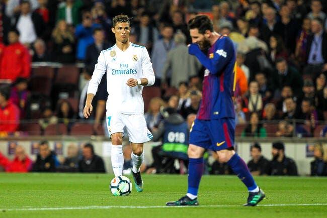 Barça-Real : Cristiano Ronaldo, Messi, la stat qui fait mal