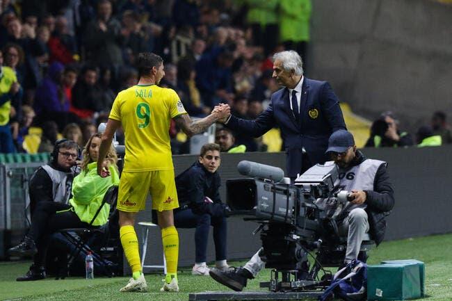 FCN : Coach Vahid veut que Sala devienne un Halilhodzic bis