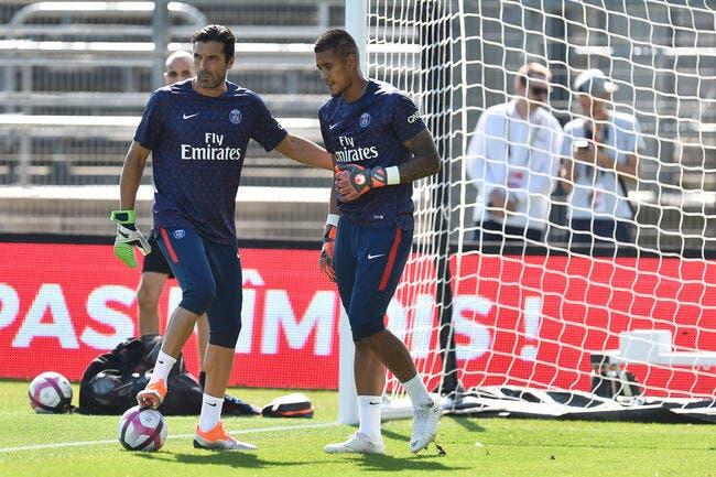 PSG : Les confessions de Buffon sur sa concurrence avec Areola
