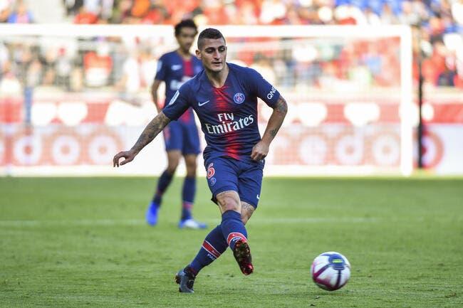 PSG : Avec Verratti, mais sans Thiago Silva contre Naples ?
