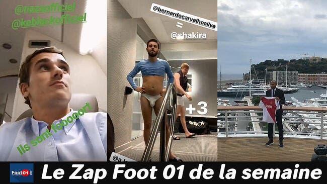 Bernardo Silva (ou Shakira) en slip, Marquinhos sauce Call of Duty, le Mbappé show