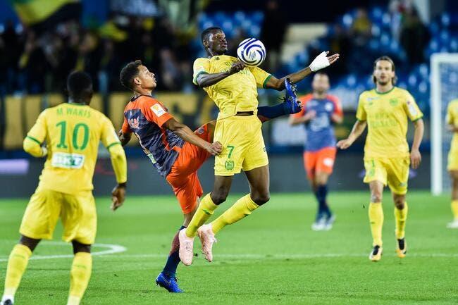 Montpellier - Nantes : 0-3