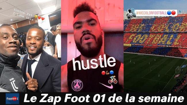 Neymar fêtard, tifo de dingue au Barça, les chanteurs de l'OL