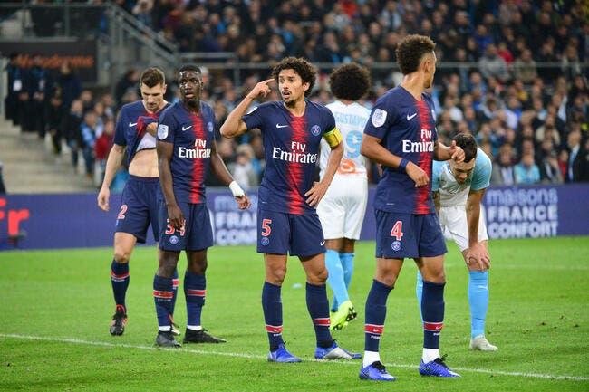 PSG: Faute, score, Marquinhos calme sèchement l'OM