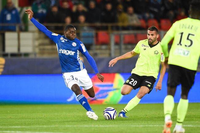 Strasbourg - Lille ; 2-0