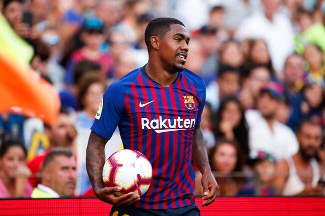 Esp: Boycotté, Malcom craque et parle mercato avec le Barça