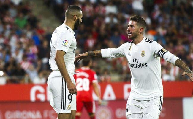 Esp : Un doublé de Benzema et le Real Madrid gagne sans forcer