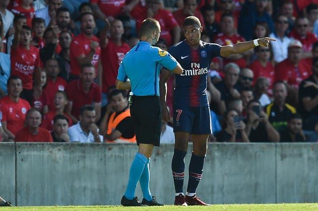 PSG : Mbappé a pris un rouge, sa réaction est cash