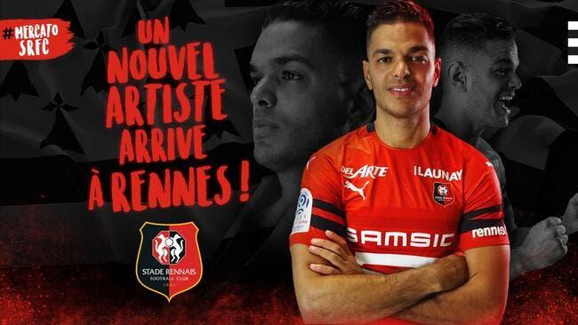 Officiel : Hatem Ben Arfa signe à Rennes !