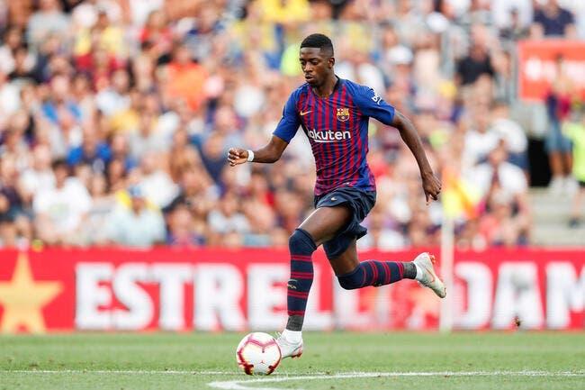 Ousmane Dembélé a parlé au Barça d'une offre du PSG (MD)