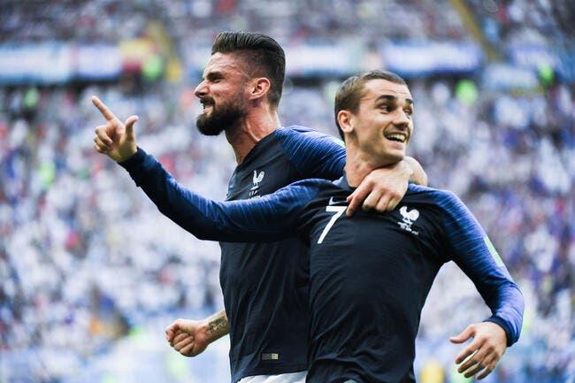 VIDÉO - Bleus - Giroud, le coup de la panne