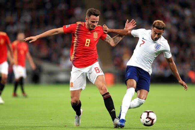 LdN : L'Espagne surprend l'Angleterre à Wembley