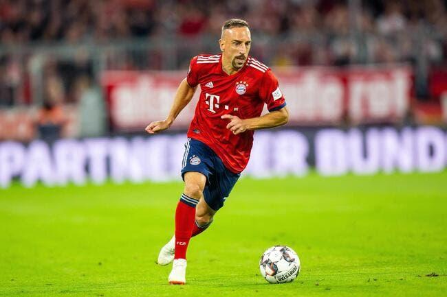 EdF : Promis juré, Ribéry a sauté de joie devant le sacre des Bleus