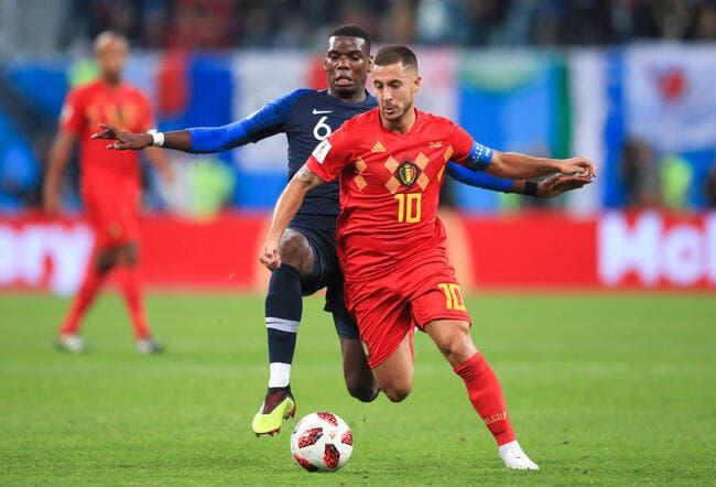La Belgique devant l'EdF, Hazard refuse ce lot de consolation