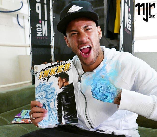 PSG : Neymar a sa BD et n'en fait pas qu'une histoire d'argent