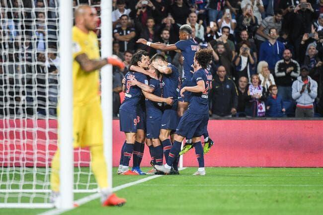L1 : Même sans Neymar et Mbappé, le PSG se balade