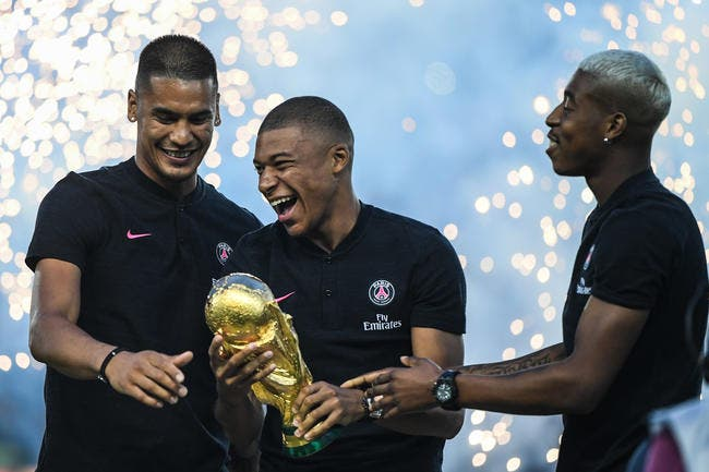 Mbappé à la place de Cristiano Ronaldo, l'Italie en rêve déjà — PSG