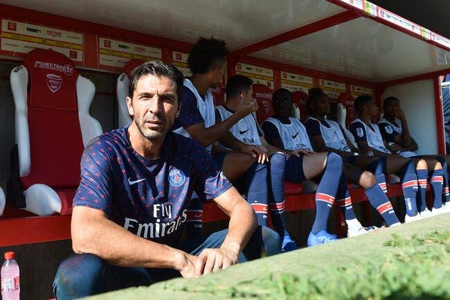 PSG: Paris avec Buffon à Liverpool, sans Verratti