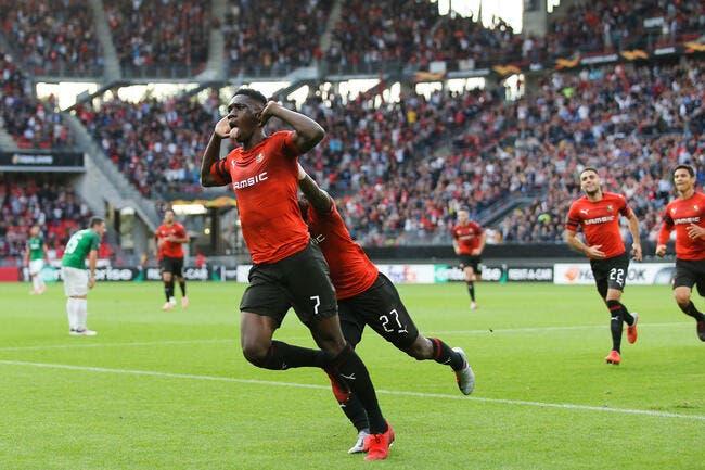 EL : Sarr et Ben Arfa font le show, Rennes démarre bien