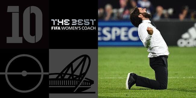 FIFA : Reynald Pedros élu coach mondial de l'année en foot féminin !