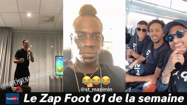 Adil Rami toujours show, Ben Arfa The Voice et Neymar chambreur