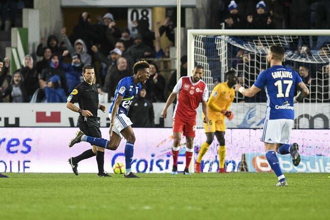 L1 : Strasbourg corrige Reims, l'OM applaudit