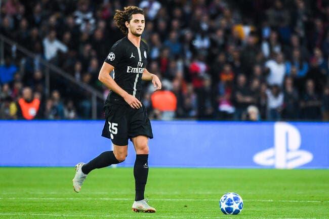 PSG : Le Real Madrid renvoie Adrien Rabiot à Paris