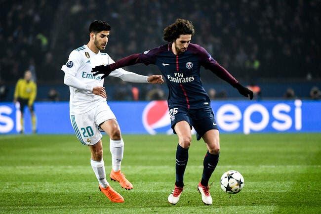 Adrien Rabiot n'intéresserait pas le Real Madrid — PSG